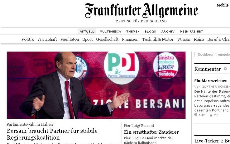 Elezioni, le reazioni della stampa estera al voto italiano ...