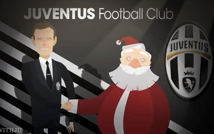 Auguri Di Natale Per Sportivi.Cartoni Film E Passi Di Danza Il Natale Delle Squadre Sky Sport