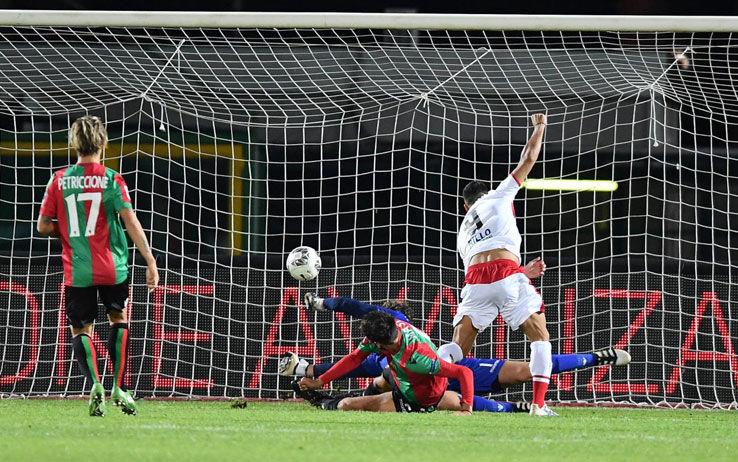 Ceravolo, gol contro la Ternana