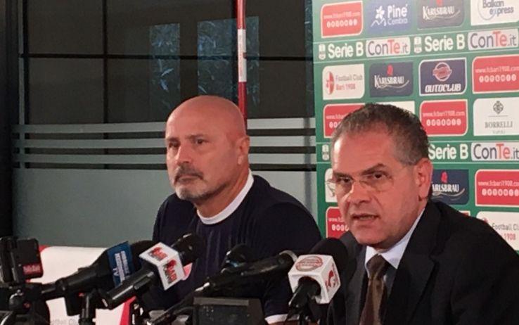 Presentazione Stefano Colantuono, nuovo allenatore Bari