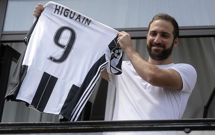 Pipita bianconero: il primo giorno di Higuain alla Juventus ...