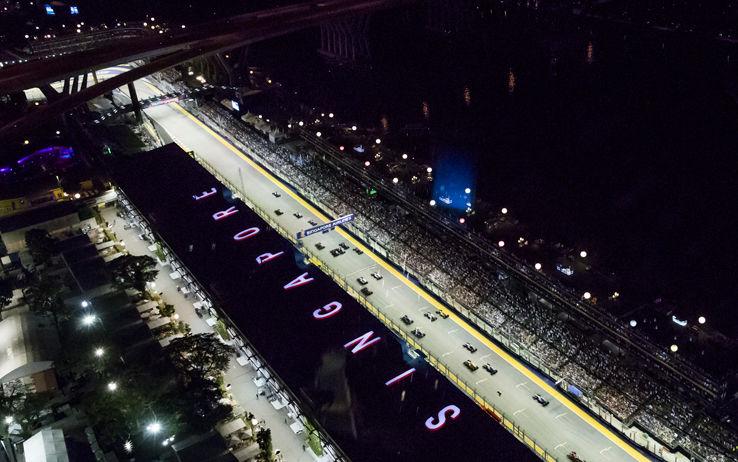 GP Singapore (Foto Getty)