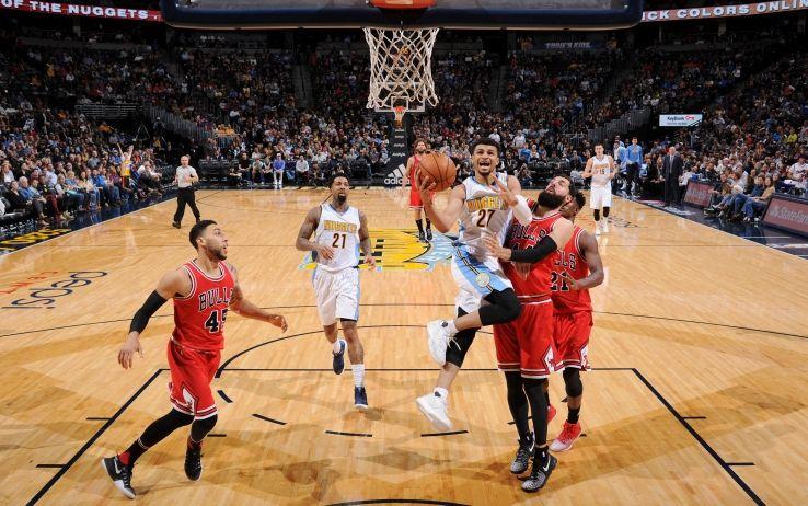 Denver Nuggets-Chicago Bulls (Foto Getty)