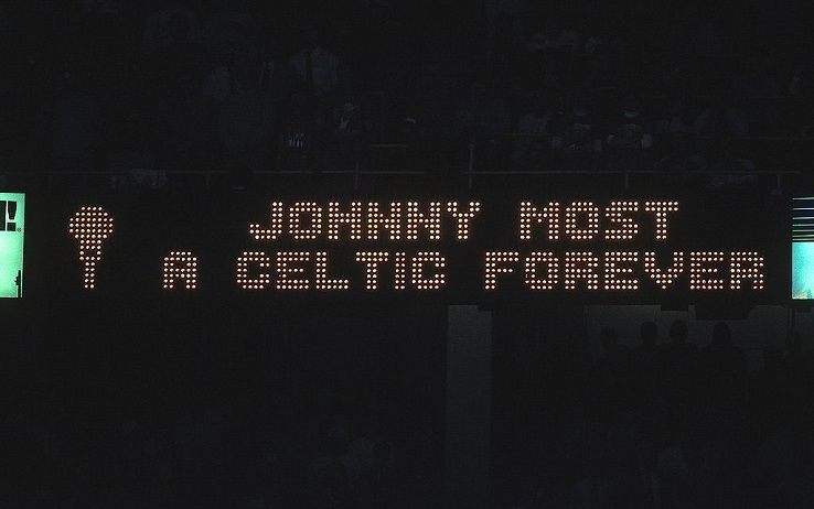 Johnny Most, storica voce dei Boston Celtics