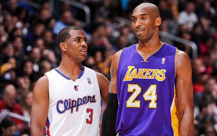 Chris Paul e Kobe Bryant