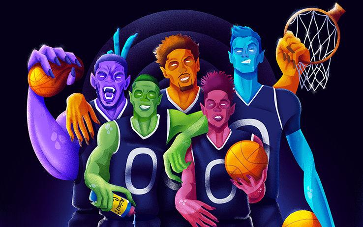 Giannis Antetokounmpo, Brandon Ingram, Kristaps Porzingis, Karl-Anthony Towns e Joel Embiid sono i giocatori di un futuro che è già tra noi