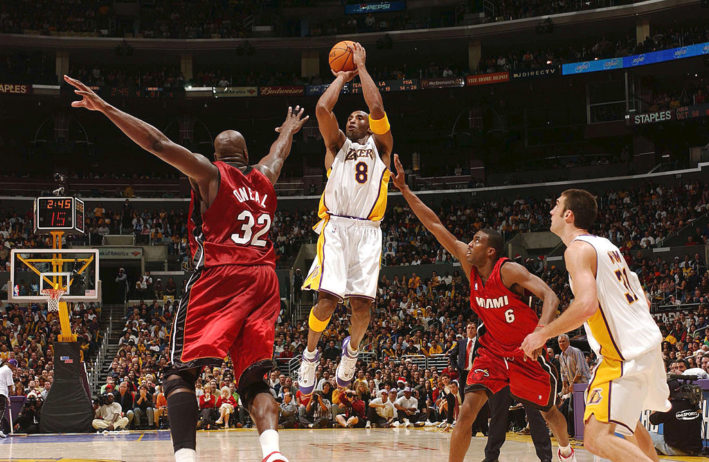 Kobe Bryant, Los Angeles Lakers e Shaquille O'Neal, Miami Heat