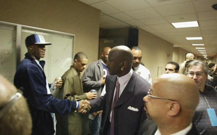 LeBron James e Michael Jordan