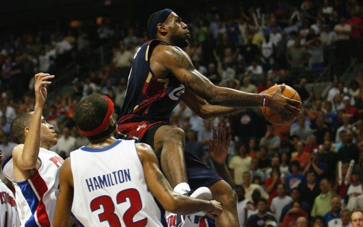 LeBron James a Detroit