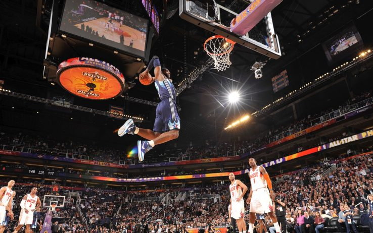 LeBron James all'All-Star Game
